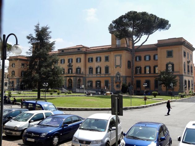 View of the San Camillo Hospital in Rome, Italy, 13 April 2017. It is one of the few hospitals carrying...