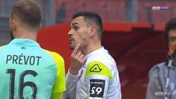 Le gardien de Valenciennes accuse un joueur de Sochaux de l'avoir mordu à la