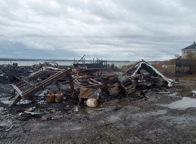 Avant même l'incendie suspect d'un entrepôt de homards à Pubnico-Ouest...