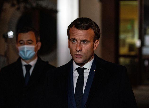 Après l'attentat contre Samuel Paty, Macron annonce des mesures