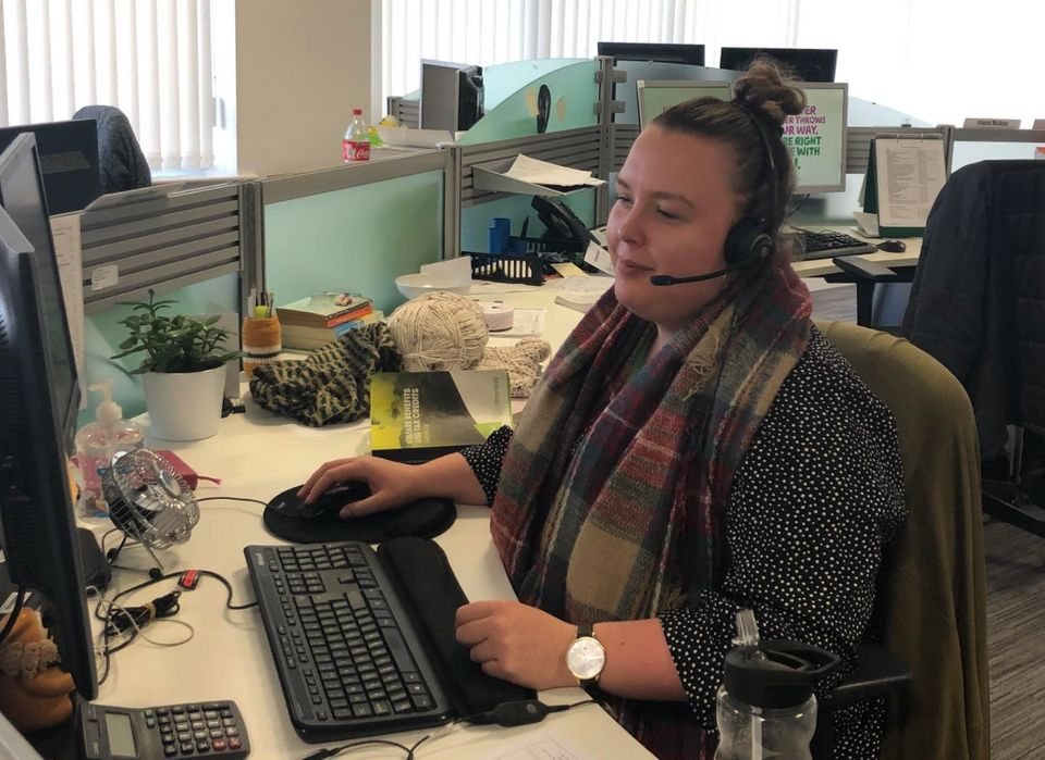Daisy Cox, welfare rights advisor at Macmillan Cancer Support