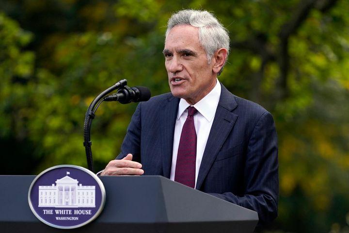 White House coronavirus adviser Scott Atlas in September.