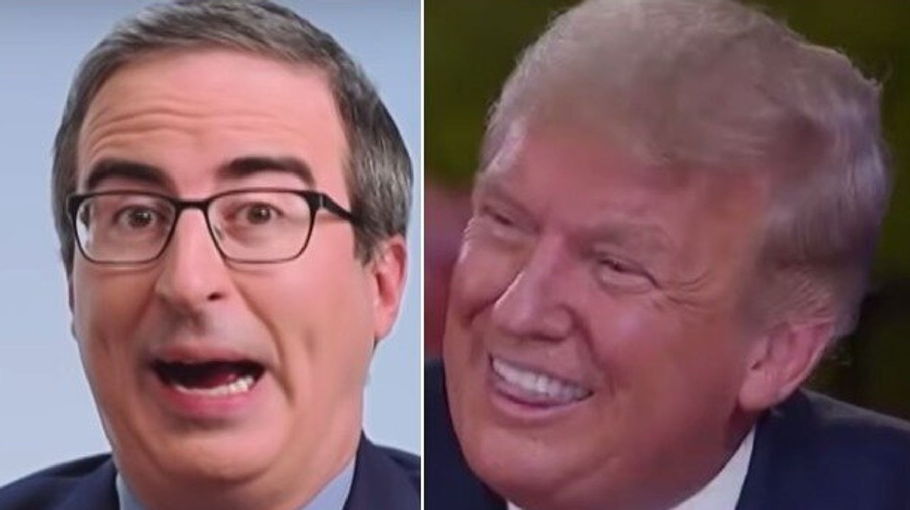 John Oliver Gives Trump's Smile Some New Descriptions You May Never Forget