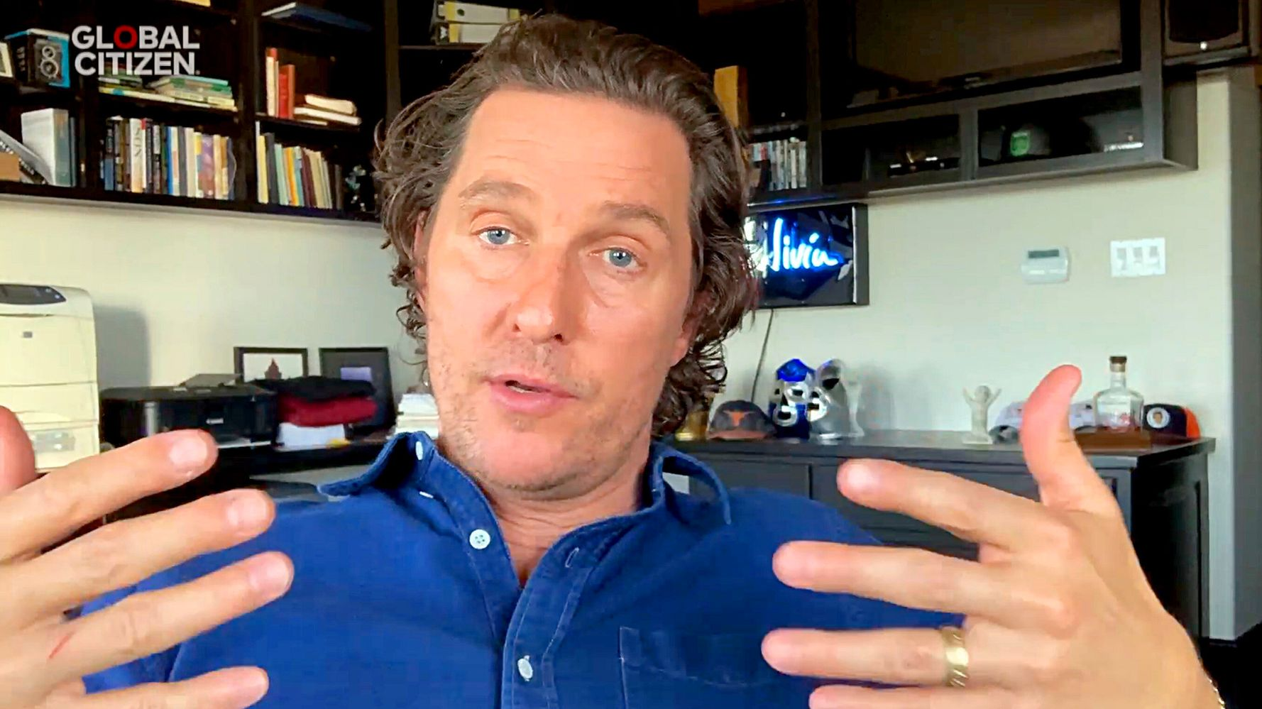 Matthew McConaughey Reveals Dad Died While Having Sex With His Mom