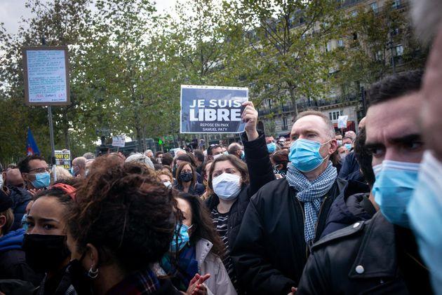 Manifestación de repulsa al terrorismo en