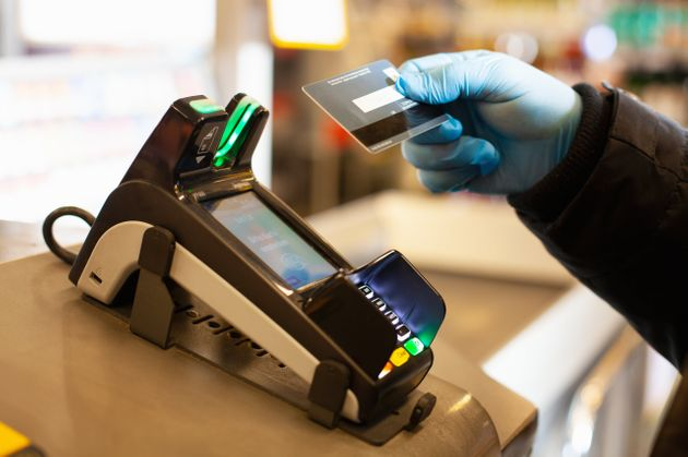 Cashless payment is recommended during the coronavirus