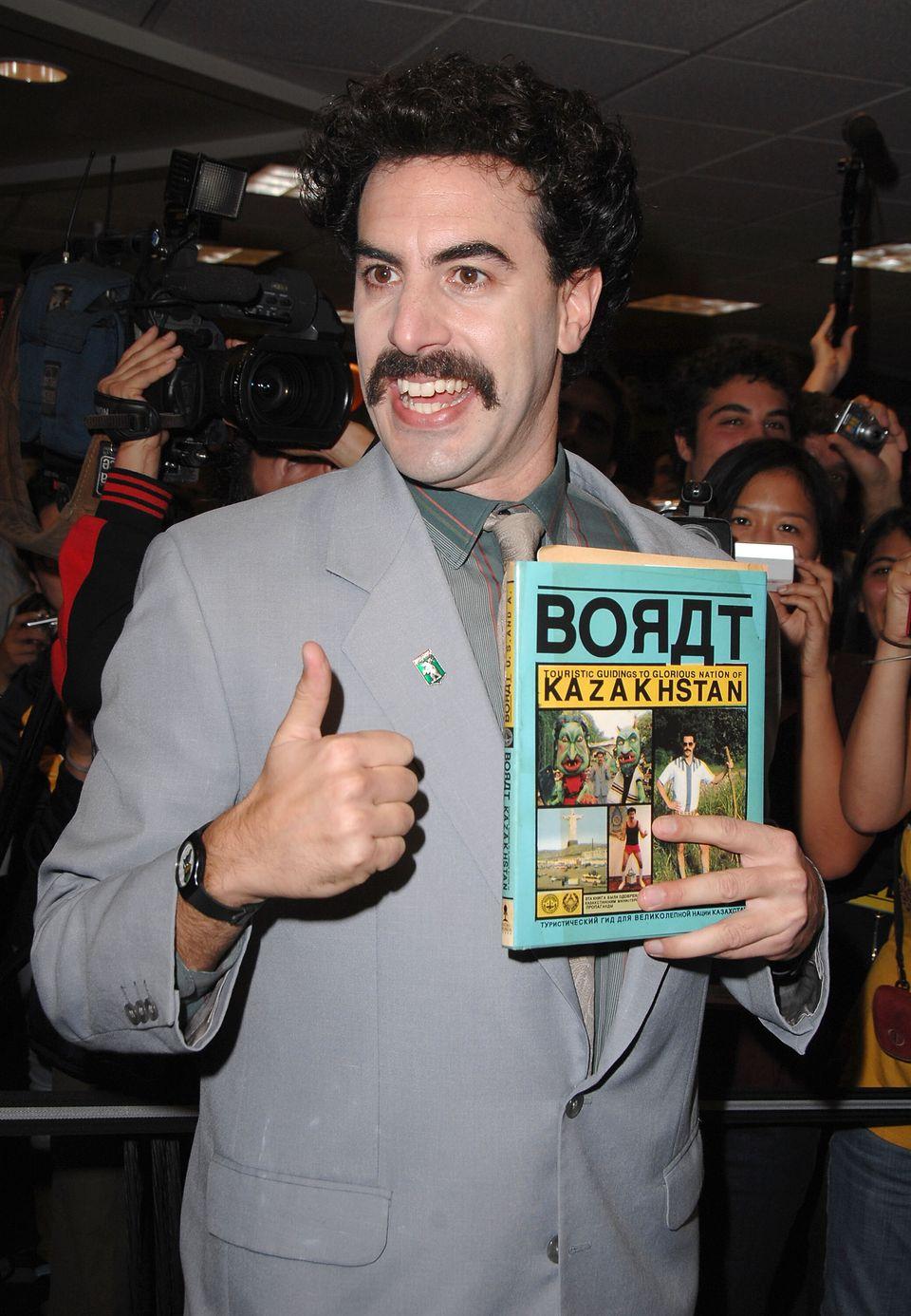 Sacha Baron Cohen aka