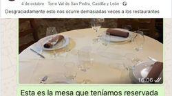 Un restaurante de Segovia envía este inolvidable mensaje de WhatsApp a un cliente que les dio