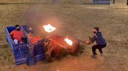 Indignación por la celebración del toro embolado de Villarreal en plena