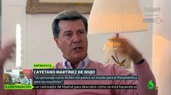 Cayetano Martínez de Irujo, sin miramientos contra un líder político:
