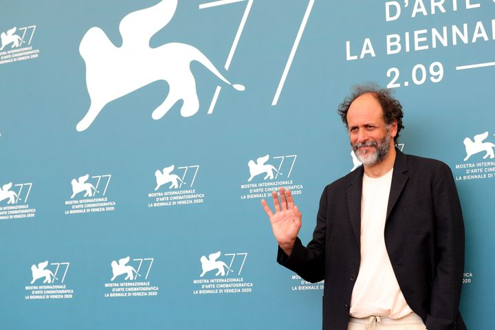 Filmmaker Luca Guadagnino at the Venice Film Festival on Sept. 6.