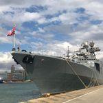 Στον Πειραιά το ρωσικό αντιτορπιλικό «Αντιναύαρχος