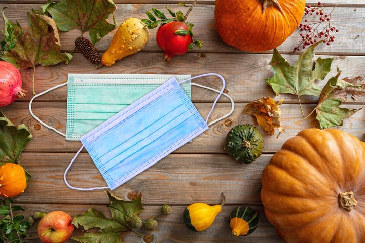 Face masks are going to be an important part of Thanksgiving this year. Hosts should consider having extra masks and hand sanitizer available for guests.