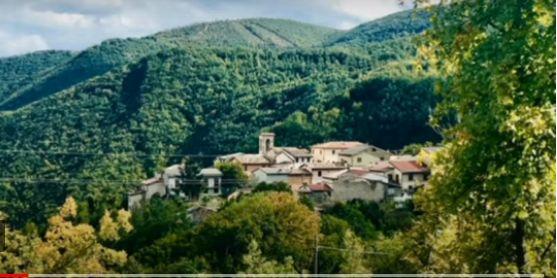 Το χωριό Νοτρόσκε στην Ούμπρια