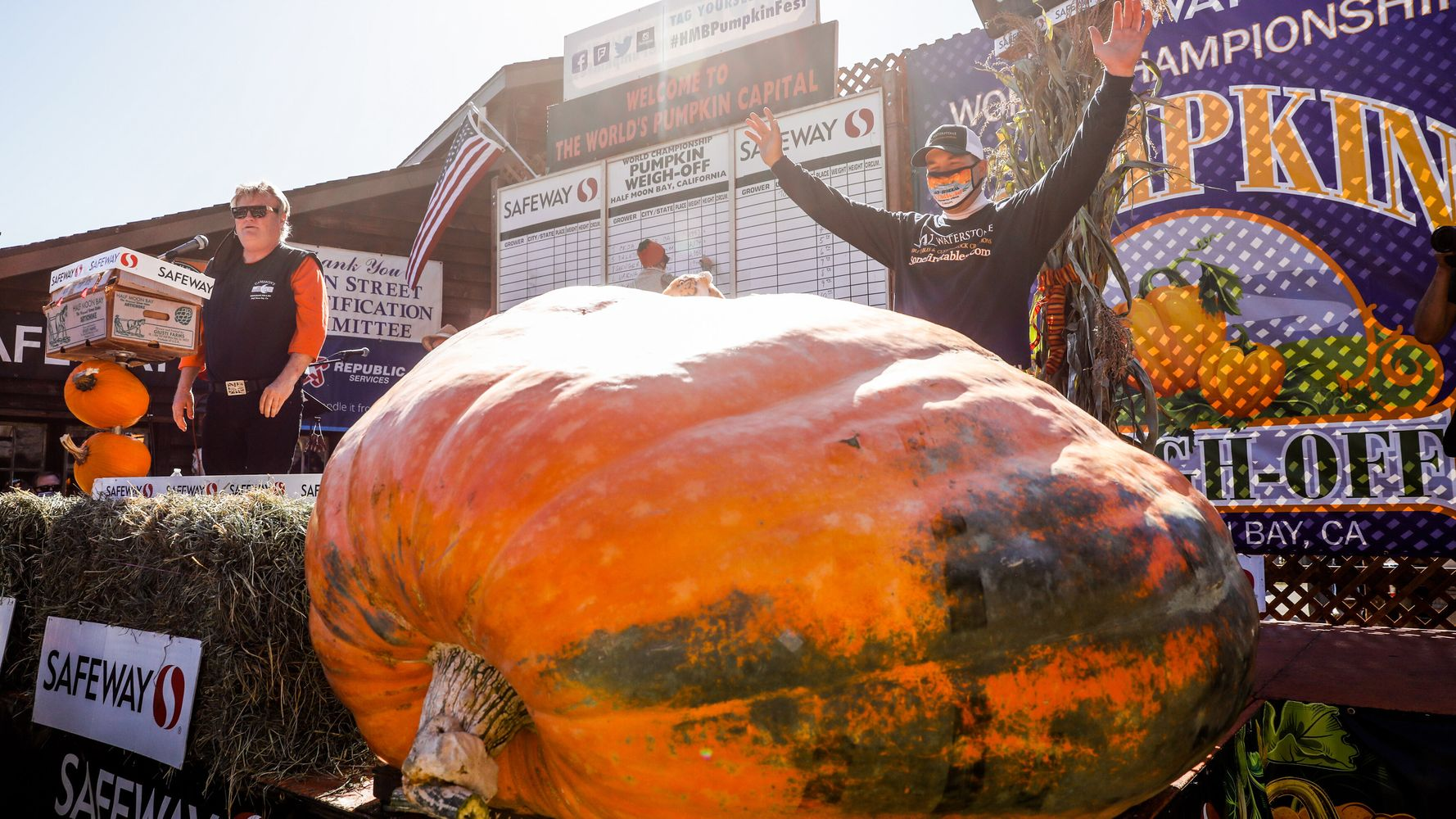 Oh My Gourd! Great Pumpkin Squashes The Competition At Annual Weigh-Off