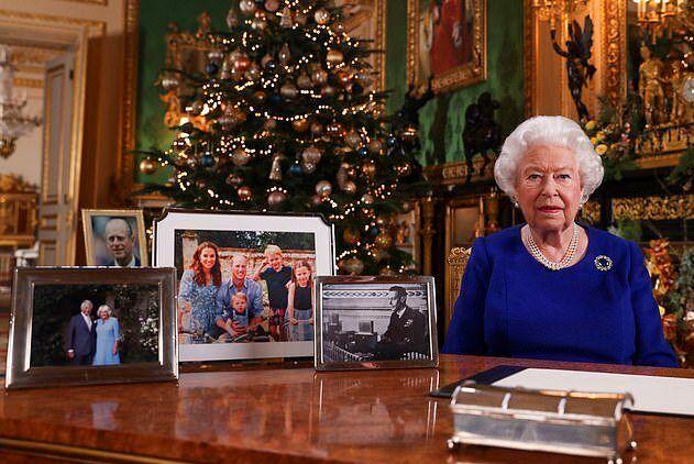 Fragmento del discurso navideño de 2019 de Isabel II.