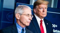 Donald Trump amenaza al 'Fernando Simón de EEUU' y le llama