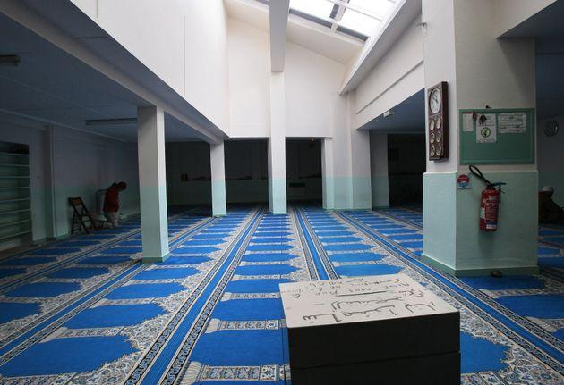 La salle de prière de la mosquée de Pantin. (photo datant de