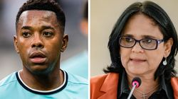 Damares defende 'cadeia imediatamente para Robinho' por condenação em caso de