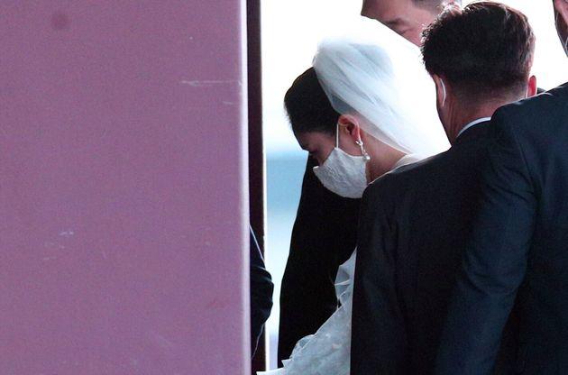 아모레퍼시픽 장녀 서민정과 보광창업투자 장남 홍정환의 결혼식이 극도로 조심스럽게