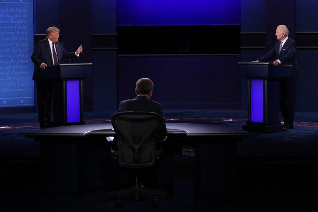 9月29日にオハイオ州クリーヴランドで開かれた第1回大統領討論会