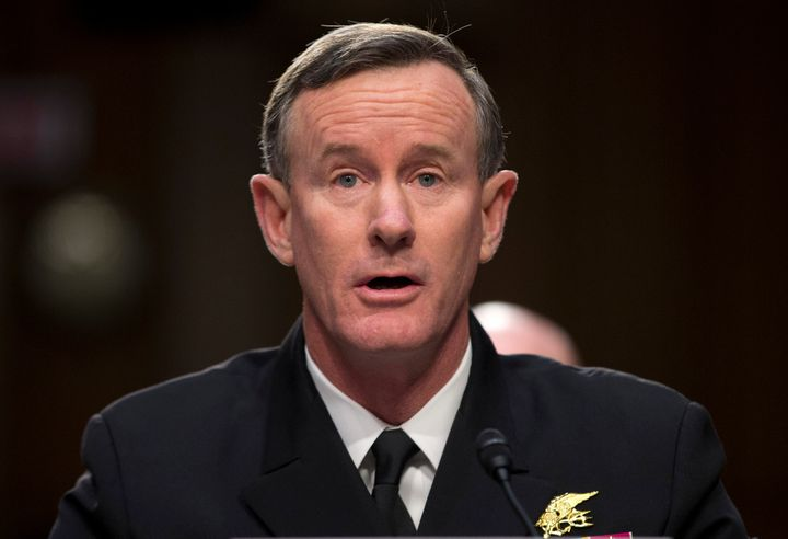 Retired four-star Adm. William McRaven endorsed former Vice President Joe Biden in an editorial published on Monday by The Wa