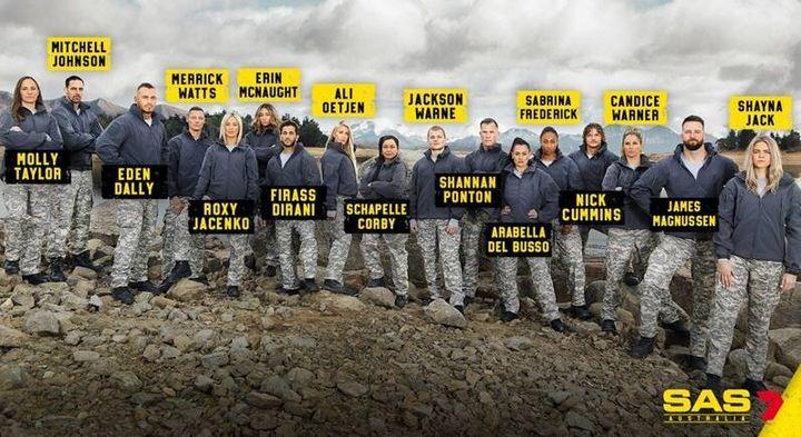 The cast of 'SAS Australia'