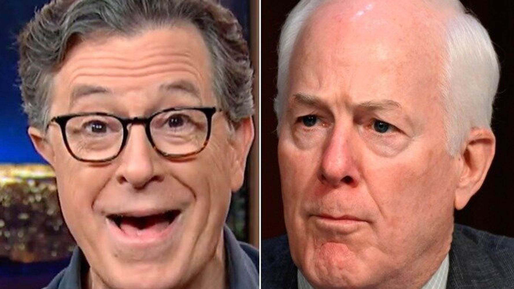Stephen Colbert Taunts GOP Senator With 'Tiny Little Testicles' Over Trump Comments