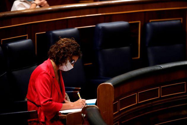 María Jesús Montero, en el