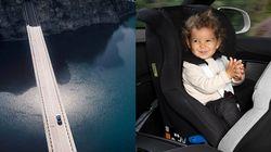 스웨덴 아이들이 차 안에서 가장 안전하다고 평가받는