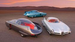 Φουτουριστικά αυτοκίνητα έρχονται από το παρελθόν και βγαίνουν σε