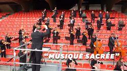 L'hommage de l'Orchestre de Bretagne pour la première de Rennes en Ligue des
