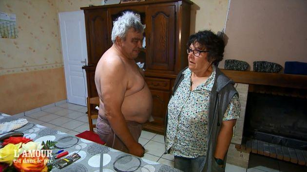 Éric et Claudine dans la quinzième saison de L'Amour est dans pré sur