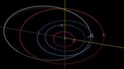 Un pequeño asteroide podría impactar contra la atmósfera el 2 de