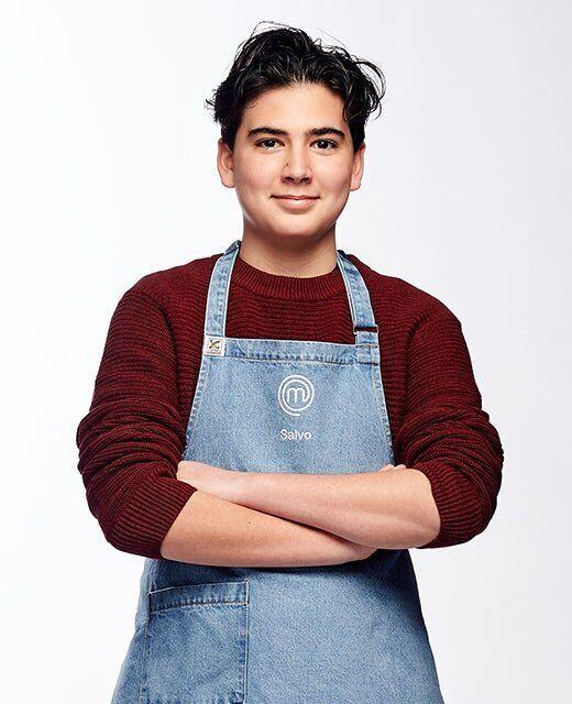 'Junior MasterChef Australia' contestant Salvo