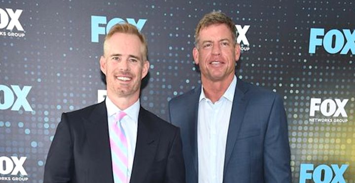 Joe Buck and Troy Aikman.