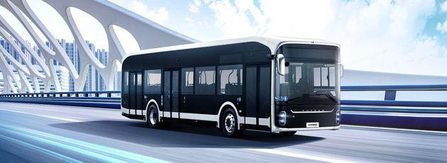 Αυτό είναι το δεύτερο ηλεκτρικό λεωφορείο της