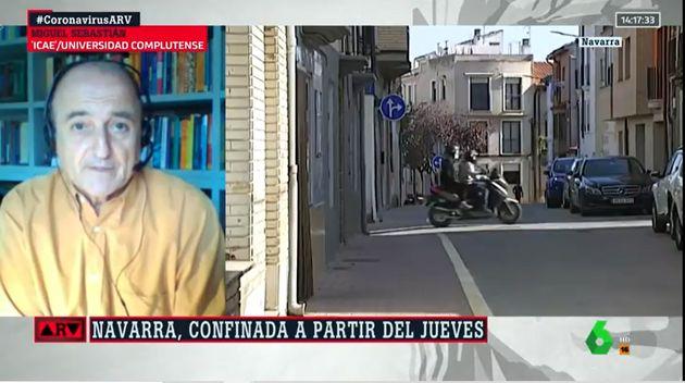 Miguel Sebastián en Al Rojo Vivo este