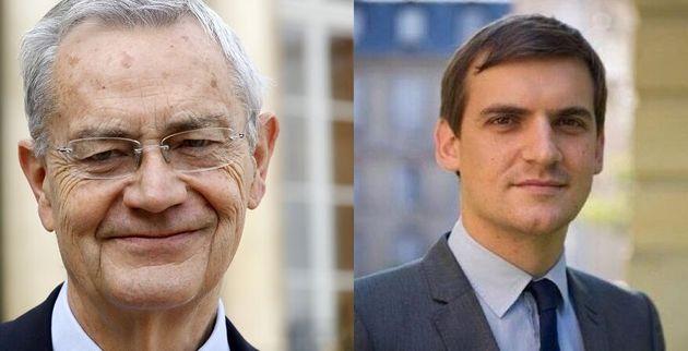Jean-Louis Bianco, président de l'Observatoire de la Laïcité et Nicolas Cadène, son rapporteur