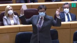 Una senadora del PP provoca uno de los mayores enfados de Salvador Illa: