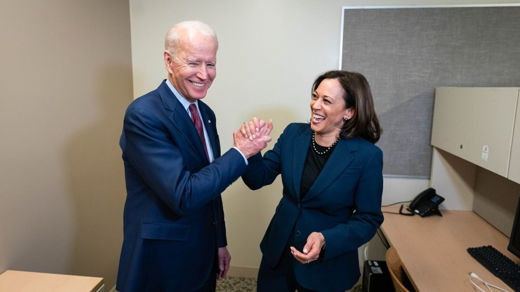 Joe Biden Sends Birthday Wishes To Kamala Harris — And Hints At Next Year