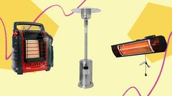 We Found Outdoor Heaters To Keep Your Patio Warm This
