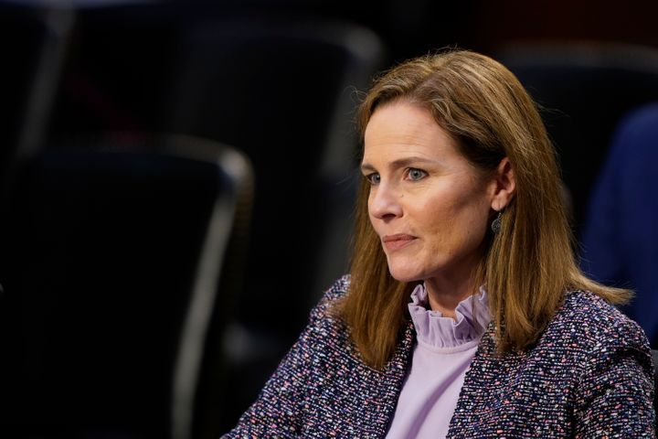 Supreme Court nominee Amy Coney Barrett could well be the fifth vote to provide Donald Trump with an opening to throw out bal