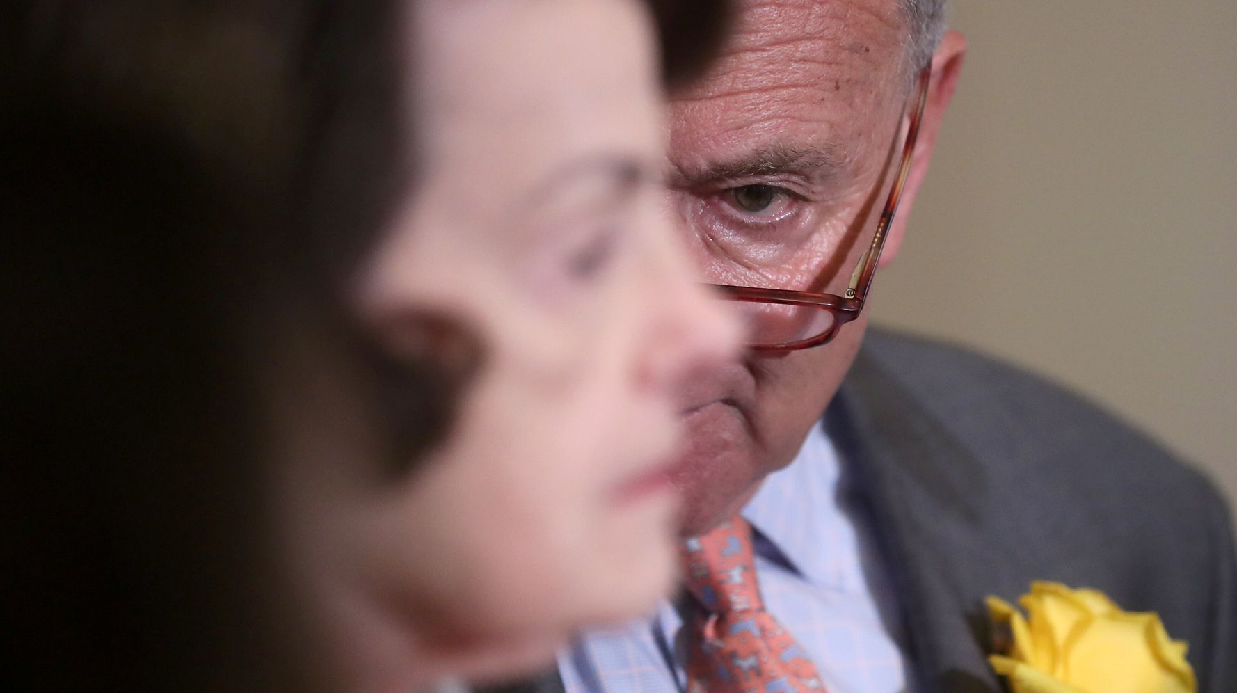 Chuck Schumer Says He Had 'Long And Serious Talk' With Dianne Feinstein