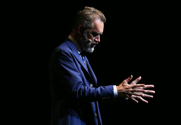 Jordan Peterson speaking at ICC Sydney Theatre on February 26, 2019 in Sydney,