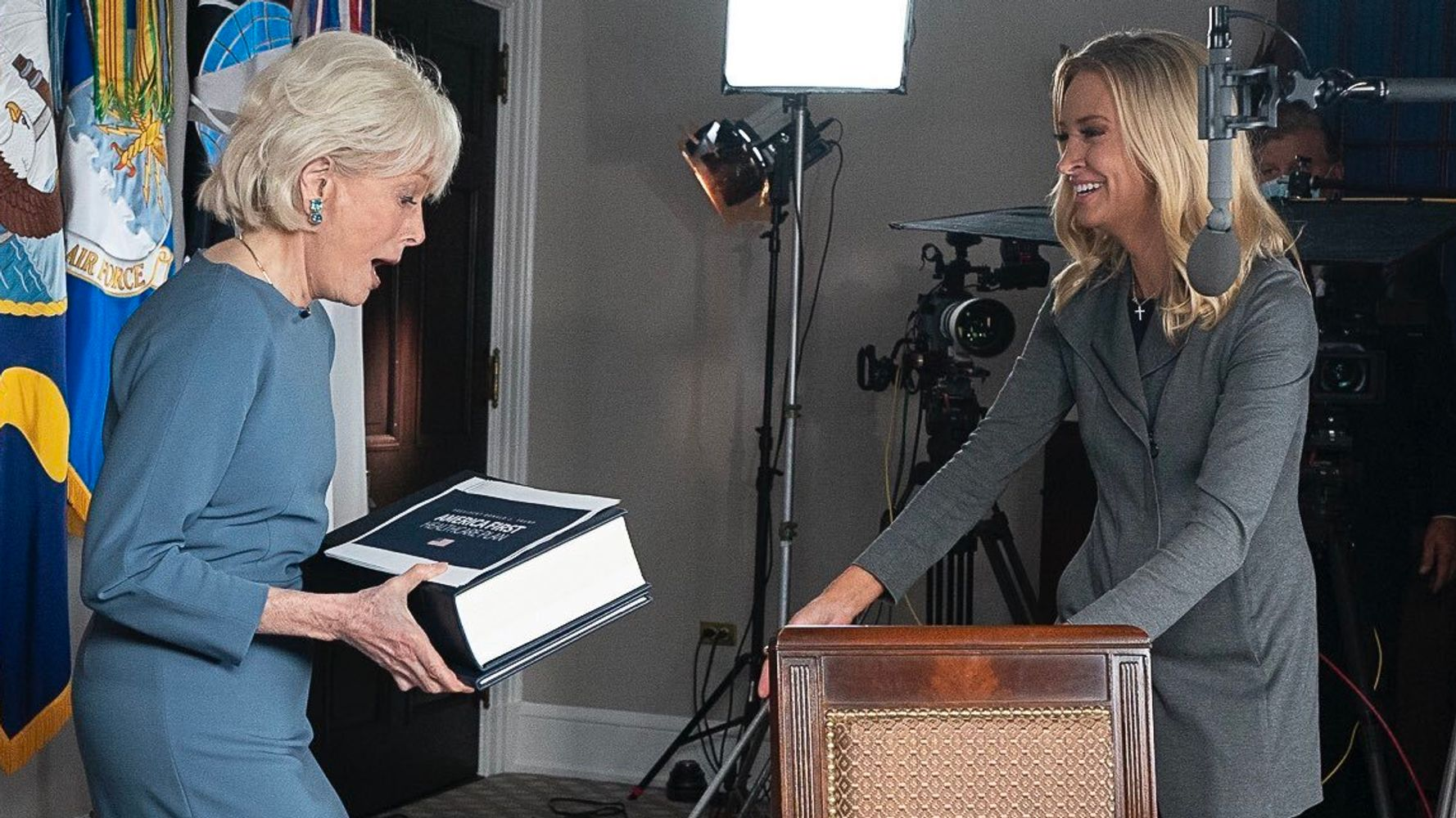 '60 Minutes' Reveals What Was Really In That Giant Trump Health Care Plan Book