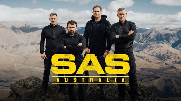 SAS Australia's ex-Special Forces soldiers Ollie Ollerton, Ant Middleton, Jason 'Foxy' Fox and Mark 'Billy'
