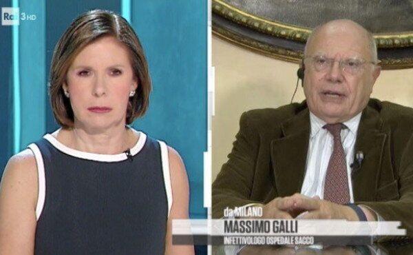 Massimo Galli, infettivologo Ospedale Sacco, ospite a