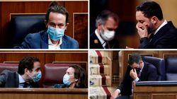 Las imágenes del debate de la moción de Vox contra