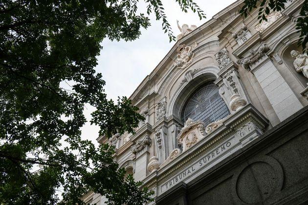Imagen de archivo del edificio del Tribunal Supremo, en